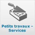 Petits travaux - Services